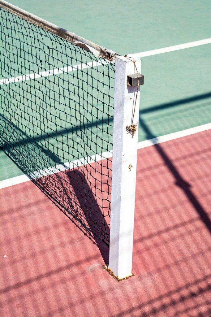 tennis, court, sport